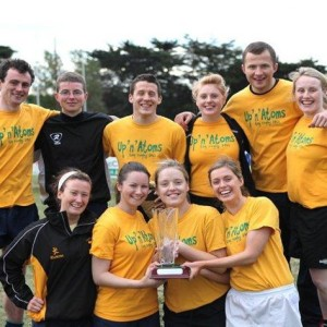 Members from research group win Tag Rugby tournament